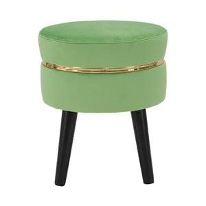 Zelená polstrovaná stolička Mauro Ferretti Paris
