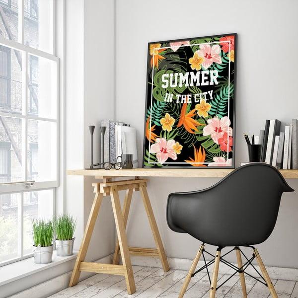 Plagát Summer In The City, 30 x 40 cm