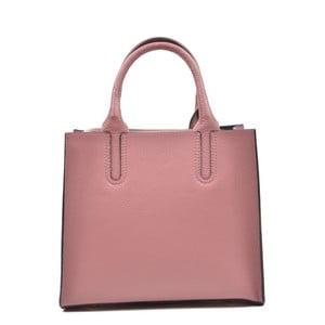 Ružová kožená kabelka Mangotti Erica