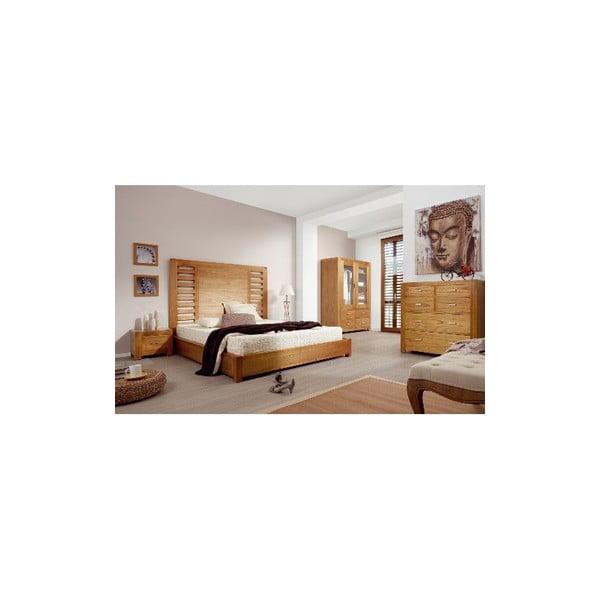 Nočný stolík Natural, 50x60 cm