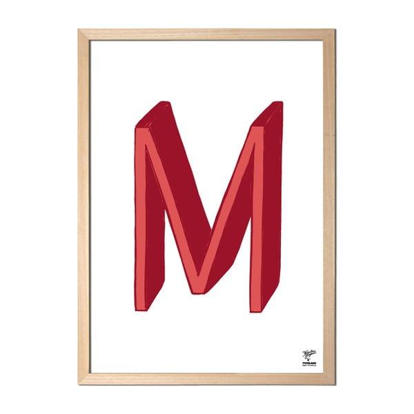 Plagát M od Karolíny Strykovej