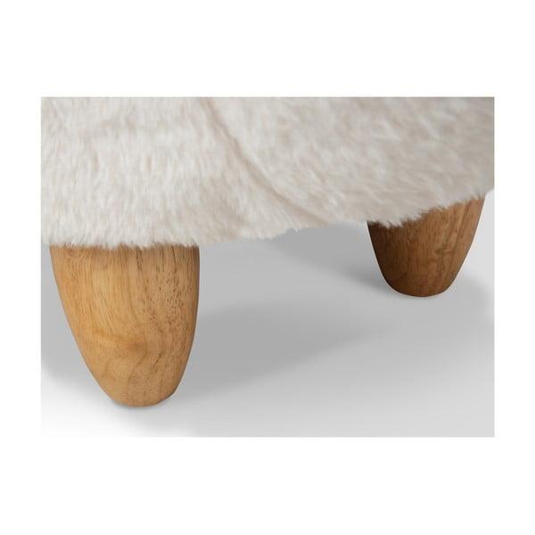 Taburetka s úložným priestorom KICOTI Lama