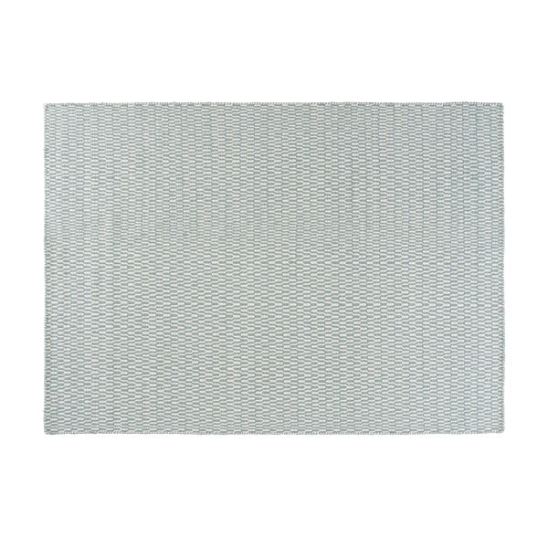 Vlnený koberec Charles Aqua, 160x230 cm