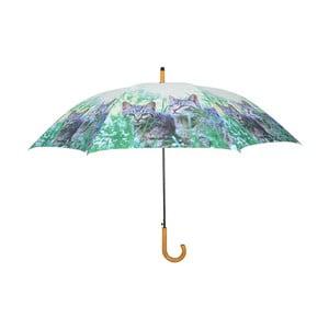 Dáždnik Esschert Design Mačiatka v tráve