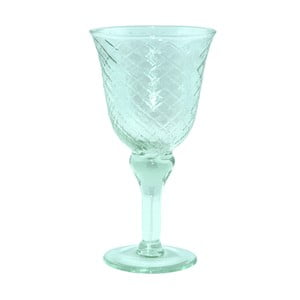 Pohár z recyklovaného skla Ego Dekor Arlequin Aqua, 370 ml