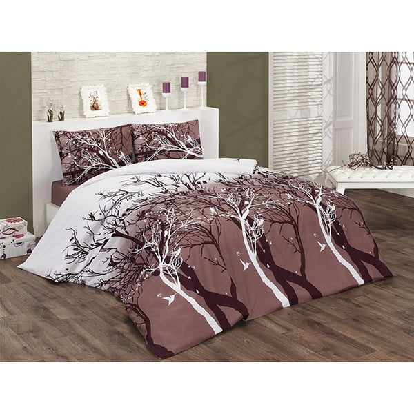 Obliečky s plachtou Bahar Quilt, 200x220 cm