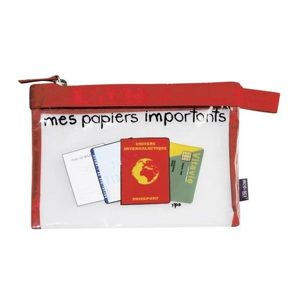 Taška na cestovné dokumenty Incidence  Mes papiers importants