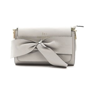 Sivá kožená kabelka f.e.v. by Francesca E. Versace Calima