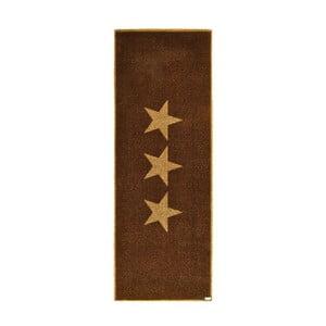 Rohožka Stars Brown, 67x180 cm