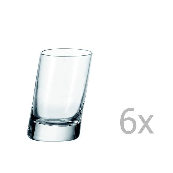 Sada 6 štamprlíkov LEONARDO Pisa, 55 ml