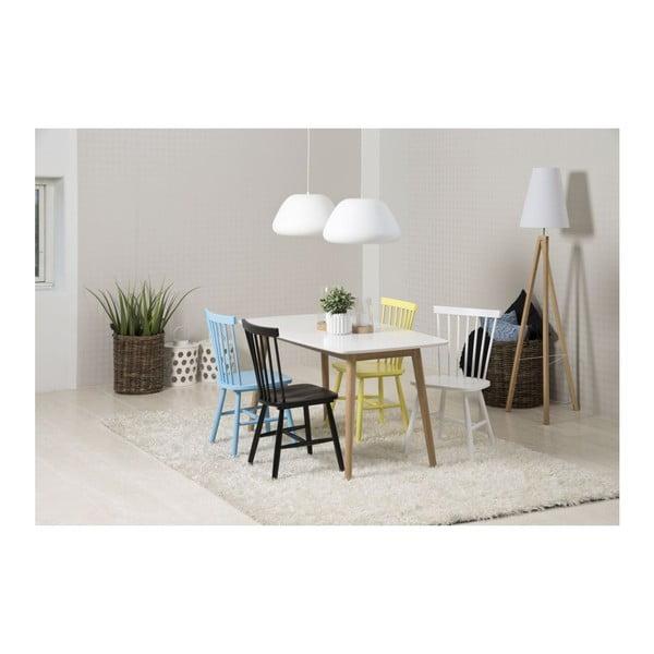 Modrá jedálenská stolička Actona Riano