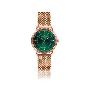 Unisex hodinky z antikoro ocele s remienkom vo farbe ružového zlata Frederic Graff Roland