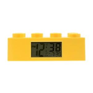 Žlté hodiny s budíkom LEGO® Brick