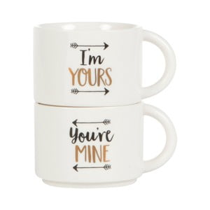 Sada 2 hrnčekov Sass & Belle Youre Mine And Im Yours