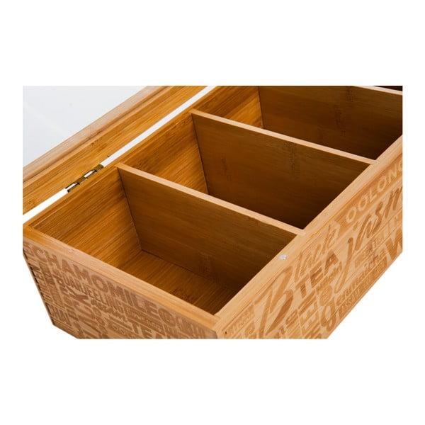 Bambusová škatuľka na čaj Bambum Tea&Coffee