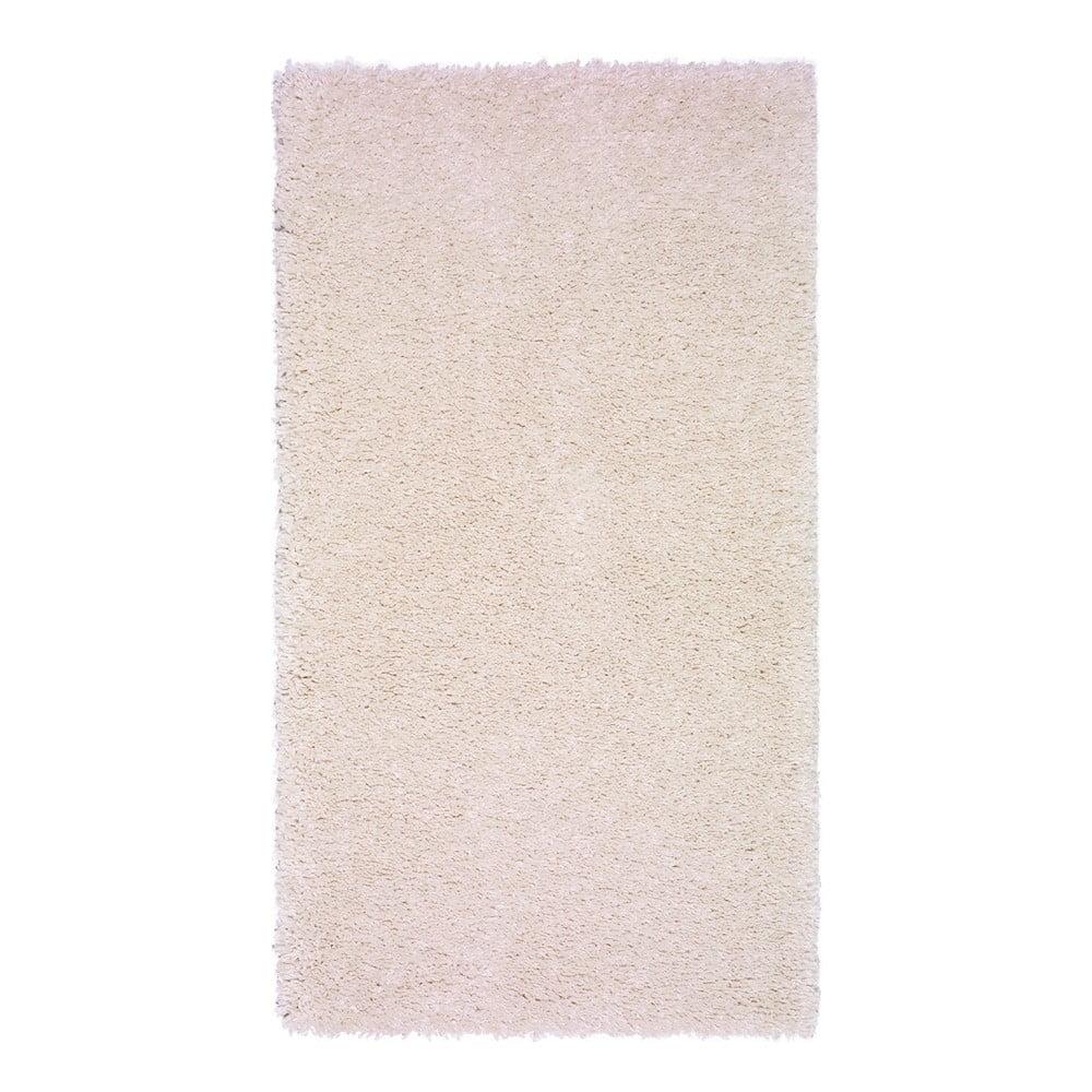 Krémovobiely koberec Universal Aqua Liso, 57 × 110 cm