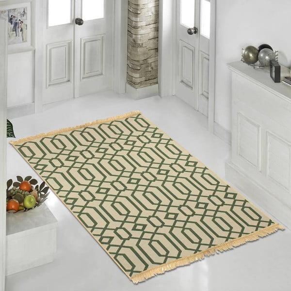 Zelený koberec Ya Rugs Kenar, 80x150cm