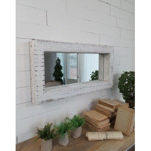 Zrkadlo Salerno Vintage White