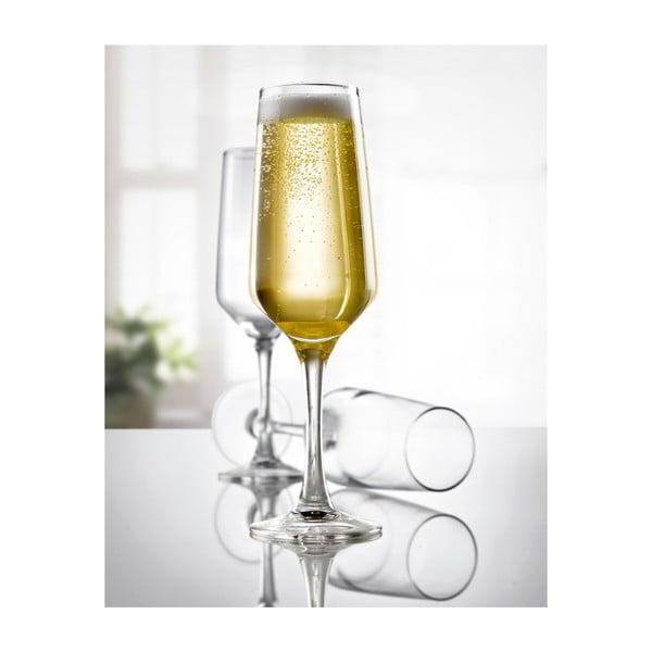 Sada 3 pohárov na šampanské Vinium, 21 cl
