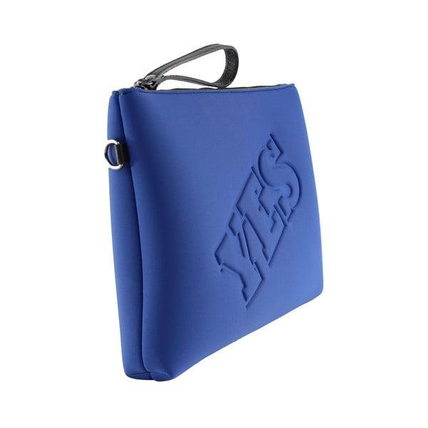 Neoprénová listová kabelka Yes/No, modré