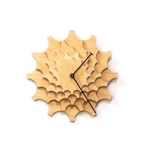 Drevené hodiny Cogwheel, 29 cm