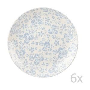 Sada 6 tanierov Fledgling White, 26 cm