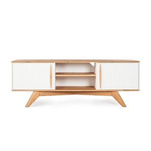 Televízny stolík z borovicového dreva Askala Maru, šírka 151 cm