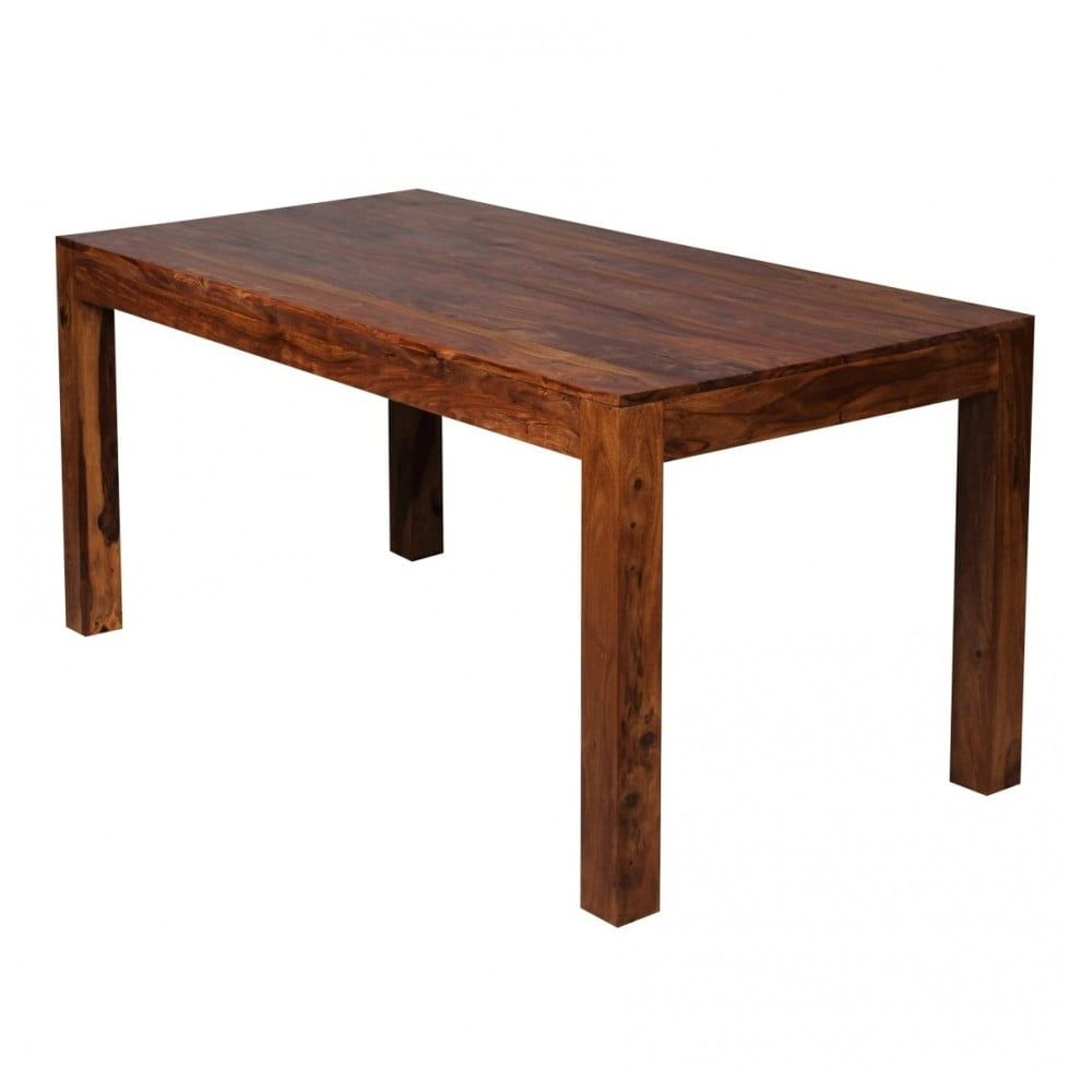 Jedálenský stôl z masívneho palisandrového dreva Skyport Alison, 160 × 80 cm