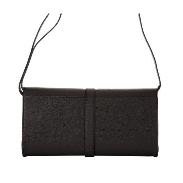 Sivá kožená kabelka Andrea Cardone 1010