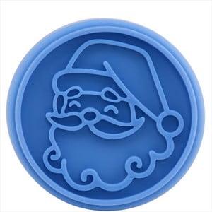Drevená pečiatka na sušienky Butlers Santa Claus, ⌀ 7 cm