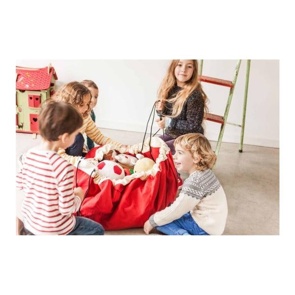 Podložka na hranie a vrece na hračky v jednom Play & Go Classic Red