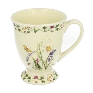 Keramický hrnček s motívom kvetov Duo Gift, 550 ml