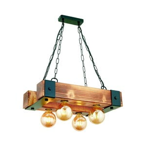 Závesné svietidlo z hrabového dreva Talu