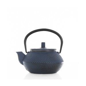 Modrá liatinová čajová kanvička Bambum Linden, 300 ml
