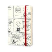 Týždenný diár Moleskine Peanuts, 9x14 cm