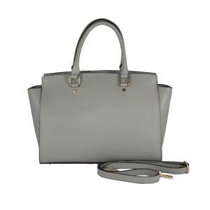 Kožená kabelka Andrea Cardone 2007 Silver Grey
