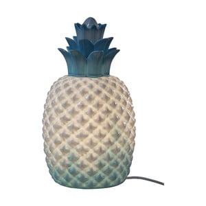 Modro-biela stolová lampa Opjet Paris Ananas