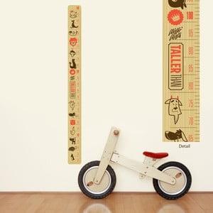 Znovu snímateľná samolepka Chocovenyl Taller Than Height Chart