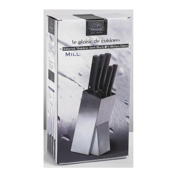 Blok nožov Jean Dubost Mill Brosse, 5 ks