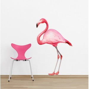 Dekoratívna samolepka na stenu Flamingo
