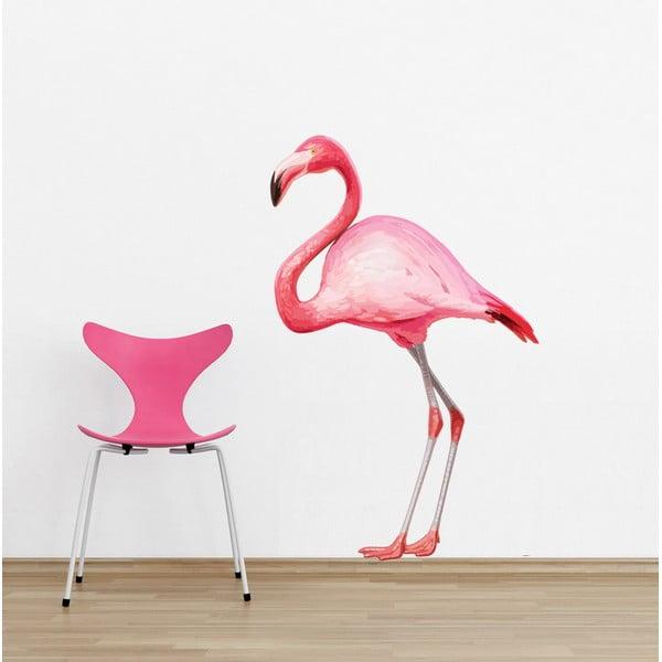 Samolepka na stenu Flamingo