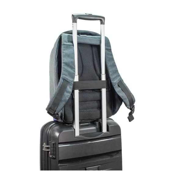 Tmavomodrý bezpečnostný batoh XD Design Bobby Compact