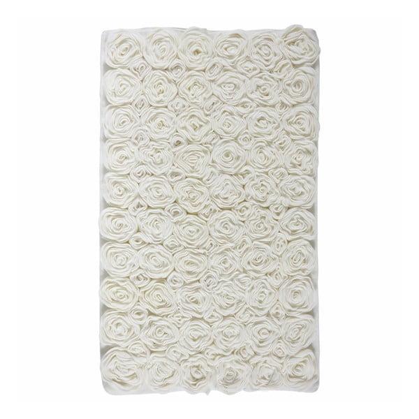 Kúpeľňová predložka  Rose Ivory, 60x100cm