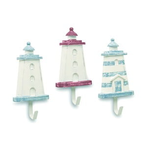 Sada 3 závesných háčikov Artesania Esteban Ferrer Lighthouse