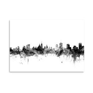 Plagát Americanflat Ottawa Skyline, 42 x 30 cm