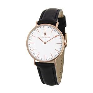 Čierne dámske hodinky Black Oak Minimalist