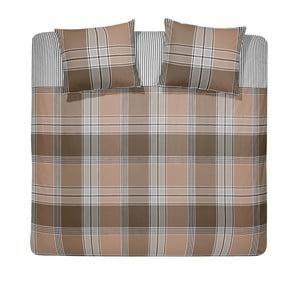 Obliečky Derby Brown, 200x200 cm
