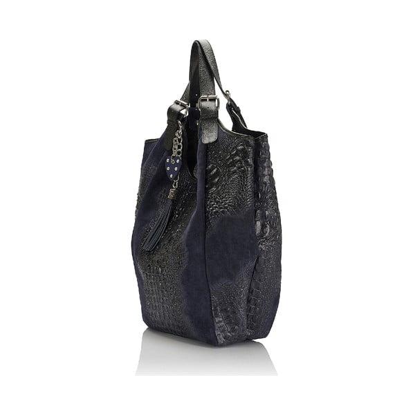 Kožená kabelka Giorgio Costa 15022 Blue