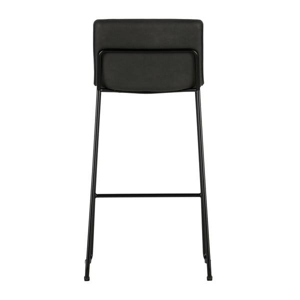 Sada 2 čiernych barových stoličiek De Eekhoorn Evan