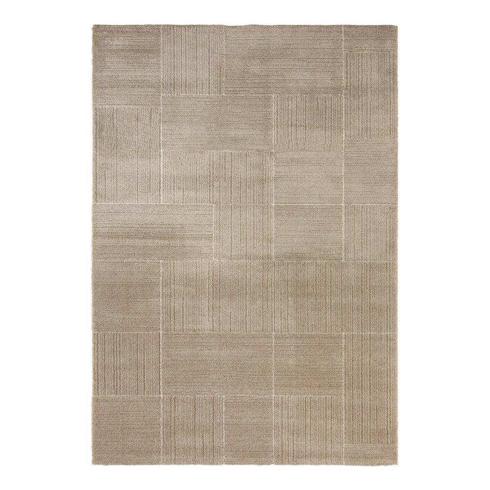 Béžovokrémový koberec Elle Decor Glow Castres, 80 x 150 cm